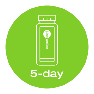 green is the colour 5 day/6 juices